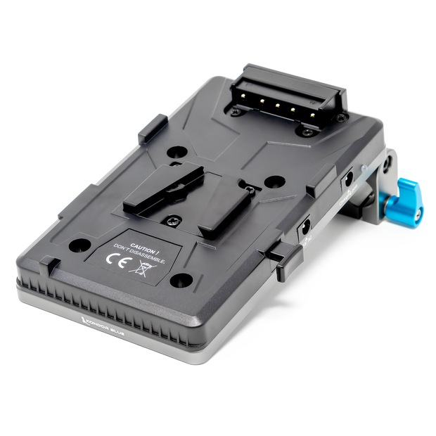Cine V Mount Battery Plate for 15mm LWS Rigs