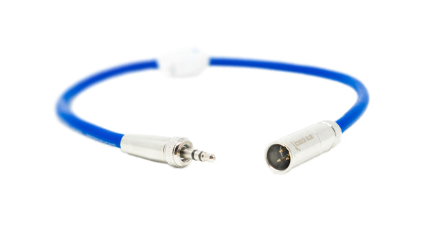 "12"" Mini XLR to 3.5MM TRS Locking Screw Plug for Lavalier/Lapels"