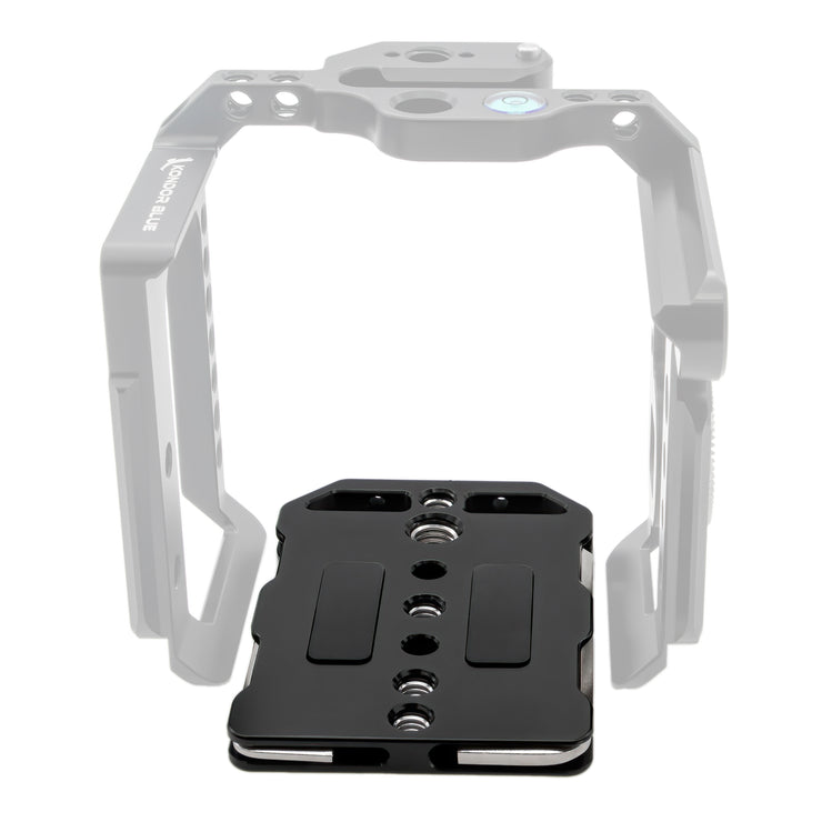 Bottom Plate Replacement for Z Cam Flagship Cage (Black)
