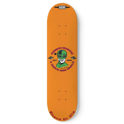 Alien Shave Or Die Skateboard Deck - Phoenix Artisan Accoutrements