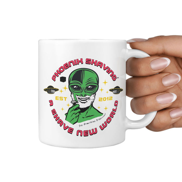 Phoenix Shaving Alien Coffee Mug - Phoenix Artisan Accoutrements