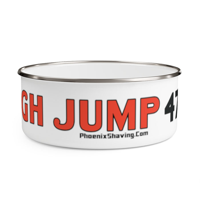 High Jump 47 Lather Shave Bowl w/ Lid! | Stainless Steel | 2 Sizes! - Phoenix Artisan Accoutrements