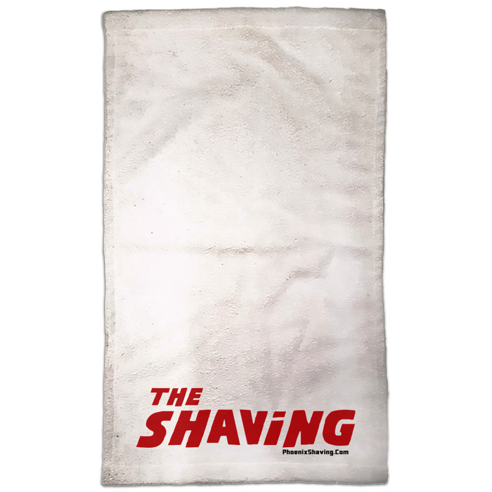 "The Shaving Haunted Hand Towel | 15 x 25 | Perfect for a ""Hot Towel"" - Phoenix Artisan Accoutrements"