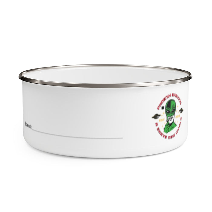 Official Phoenix Shaving Enamel Lather Shave Bowl w/ Lid! V2 | Stainless Steel | 2 Sizes! - Phoenix Artisan Accoutrements