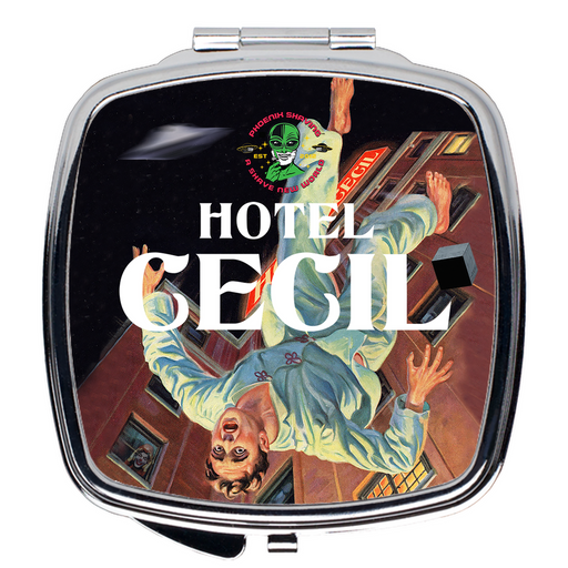 Hotel Cecil Compact Travel Mirror - Phoenix Artisan Accoutrements