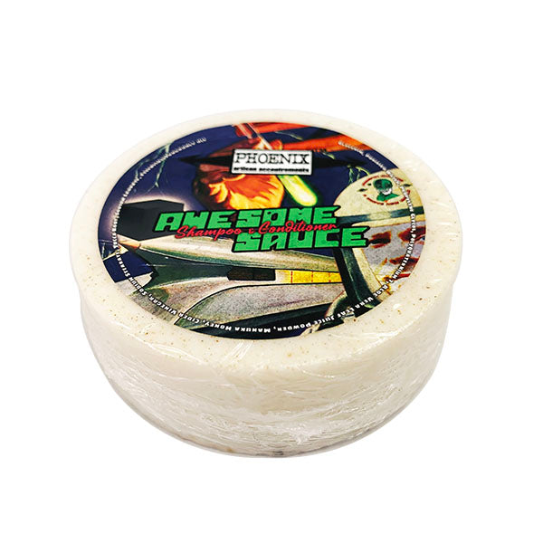 Awesome Sauce Conditioning Shampoo Puck | Iconic Italian Barbershop Scent! - Phoenix Artisan Accoutrements