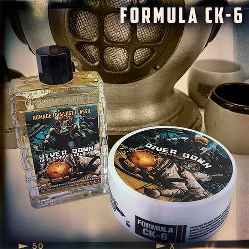 Diver Down Artisan Shaving Soap & Aftershave Bundle Deal | Ultra Premium CK-6 Formula | Homage to the Original Seaforth Spiced! - Phoenix Artisan Accoutrements