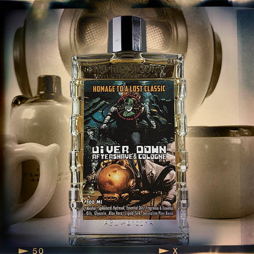 Diver Down Aftershave & Cologne | Homage to the Original Seaforth Spiced! - Phoenix Artisan Accoutrements