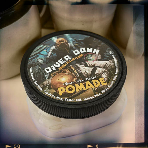 Diver Down Pomade | Wax Based Ol' Fashion Pomade Grease! | Medium Hold | Homage to the Original Seaforth Spiced! - Phoenix Artisan Accoutrements