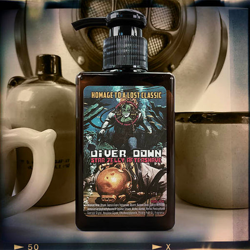 Diver Down Star Jelly Aftershave | Homage to the Original Seaforth Spiced! - Phoenix Artisan Accoutrements