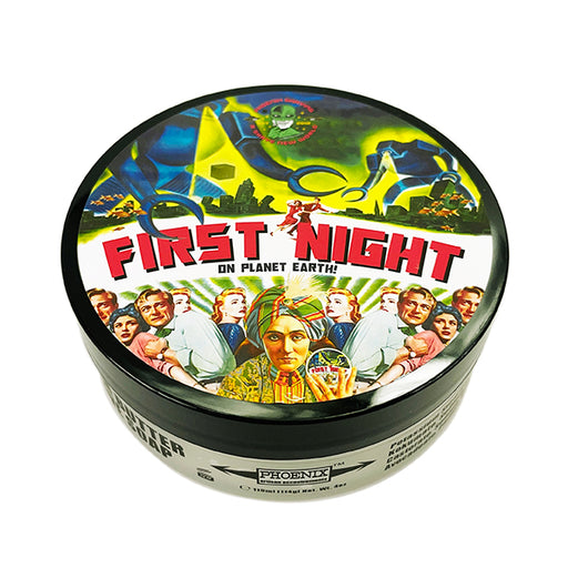 First Night [On Planet Earth] Artisan Shaving Soap | Original Formula | 4 Oz - Phoenix Artisan Accoutrements