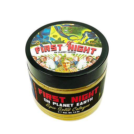 First Night [On Planet Earth] Solid Cologne | Contains Prickly Pear Oil | Refreshing & Festive - Phoenix Artisan Accoutrements
