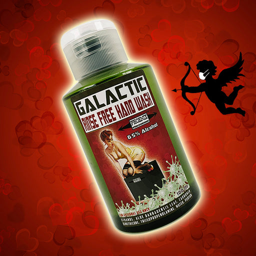 Valentine's Dark Chocolate Galactic Rinse Free Hand Wash | 65% Alcohol 100 Ml | Seasonal Scent - Phoenix Artisan Accoutrements