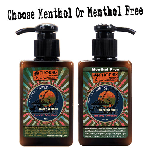Copy of Harvest Moon Star Jelly Aftershave | Menthol Free Or Mentholated! | A Phoenix Shaving Classic! - Phoenix Artisan Accoutrements