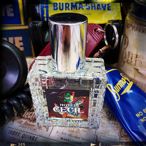 Hotel Cecil Eau De Parfum | Homage To The Original Burma Shave | 30 Ml EDP - Phoenix Artisan Accoutrements