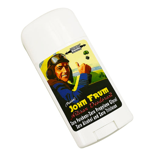 John Frum All Natural Deodorant | Sport Strength - Phoenix Artisan Accoutrements