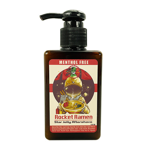 Rocket Ramen Star Jelly Aftershave  |  Yup, you read right! - Phoenix Artisan Accoutrements