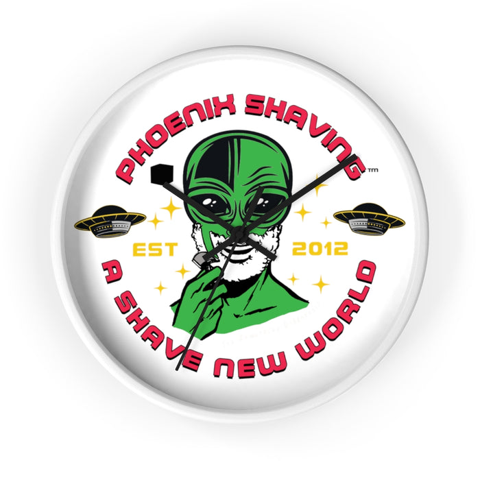 Official Phoenix Shaving Alien Wall Clock - Phoenix Artisan Accoutrements
