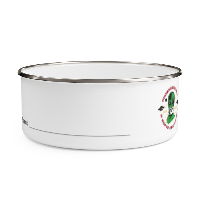 Official Phoenix Shaving Enamel Lather Shave Bowl Bowl w/ Lid! | Stainless Steel | 2 Sizes! - Phoenix Artisan Accoutrements