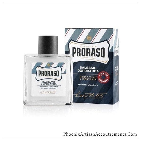 Proraso Alcohol Free Aftershave Balm - Aloe And Vitamin E - Phoenix Artisan Accoutrements