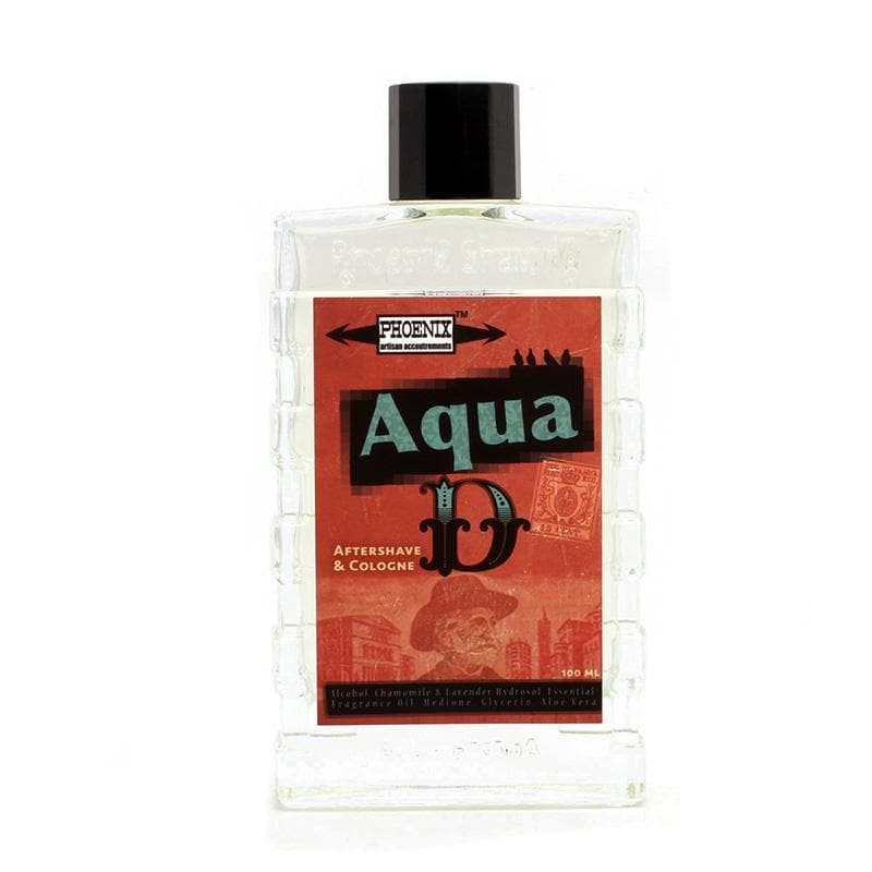 Aqua D Aftershave & Cologne - An Italian Classic - With Hedione