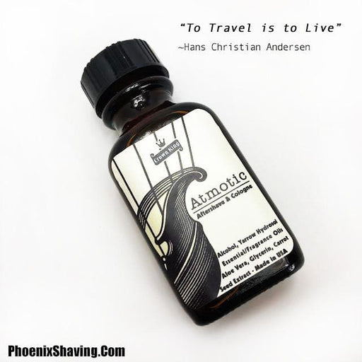 Atmotic Travel Aftershave/Cologne - 1 Ounce - Phoenix Artisan Accoutrements