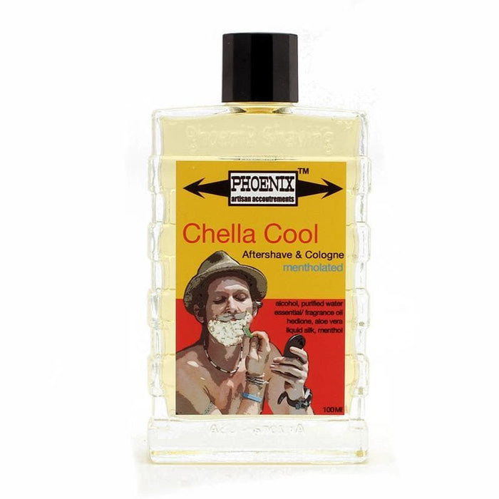 Chella Cool Aftershave/Cologne - Mentholated - Phoenix Artisan Accoutrements