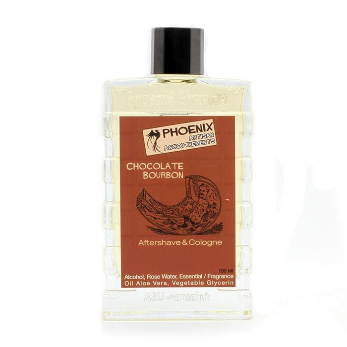 Chocolate Bourbon Aftershave Cologne - Made with Toasted American Oak Cubes! - Phoenix Artisan Accoutrements