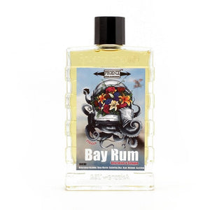 Clásico Bay Rum Aftershave Cologne   Made with Essential Oils & NO Clove!