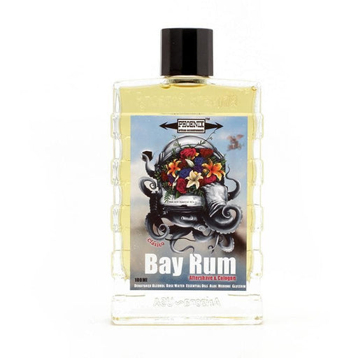 Clásico Bay Rum Aftershave Cologne - Made with Essential Oils & NO Clove! - Phoenix Artisan Accoutrements