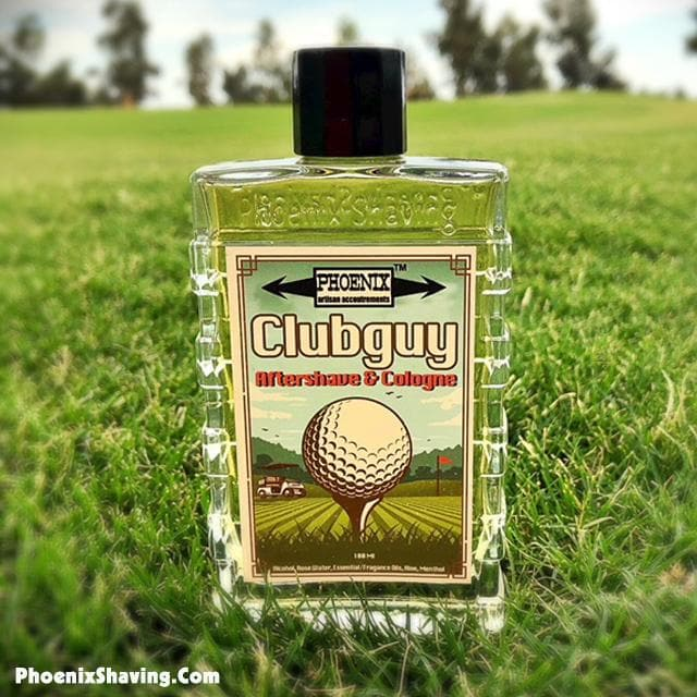 Clubguy Aftershave & Cologne - Contains Menthol - Tribute To A Classic - Phoenix Artisan Accoutrements