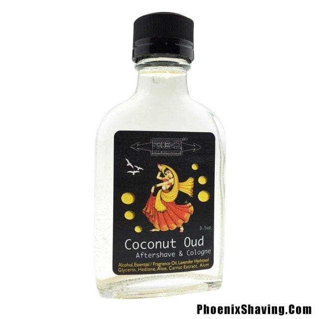 Coconut Oud Aftershave / Cologne - w/ Hedione - Phoenix Artisan Accoutrements