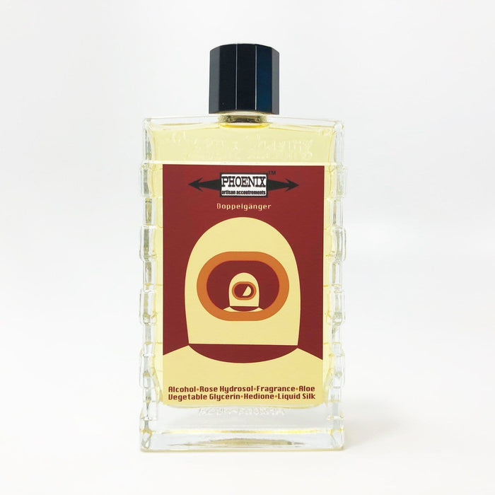 Doppelgänger Ox Blood Label Artisan Aftershave Cologne - Homage to Sartorial - Phoenix Artisan Accoutrements