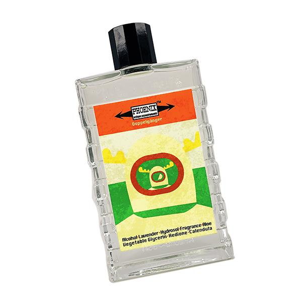 Doppelgänger Tricolor Label Aftershave/Cologne | Clean, Green, Spicy & Masculine! - Phoenix Artisan Accoutrements