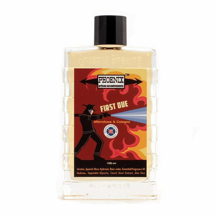 First Due Aftershave/Cologne - A Very Epic Aftershave on a Mission! - Phoenix Artisan Accoutrements