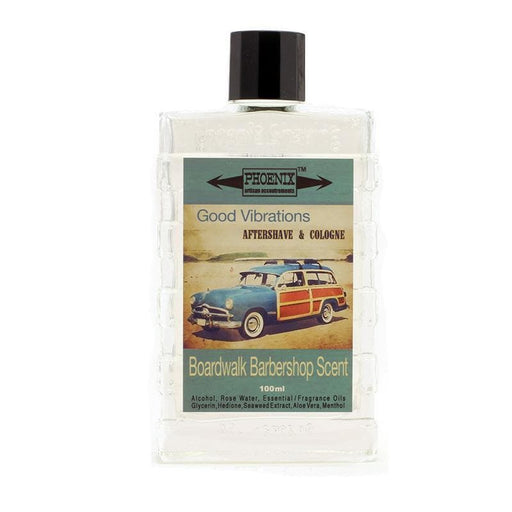 Good Vibrations Aftershave & Cologne | Boardwalk Barbershop - Phoenix Artisan Accoutrements