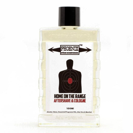 Home on The Range Aftershave/Cologne - Contains Lite Menthol, Aloe - Phoenix Artisan Accoutrements