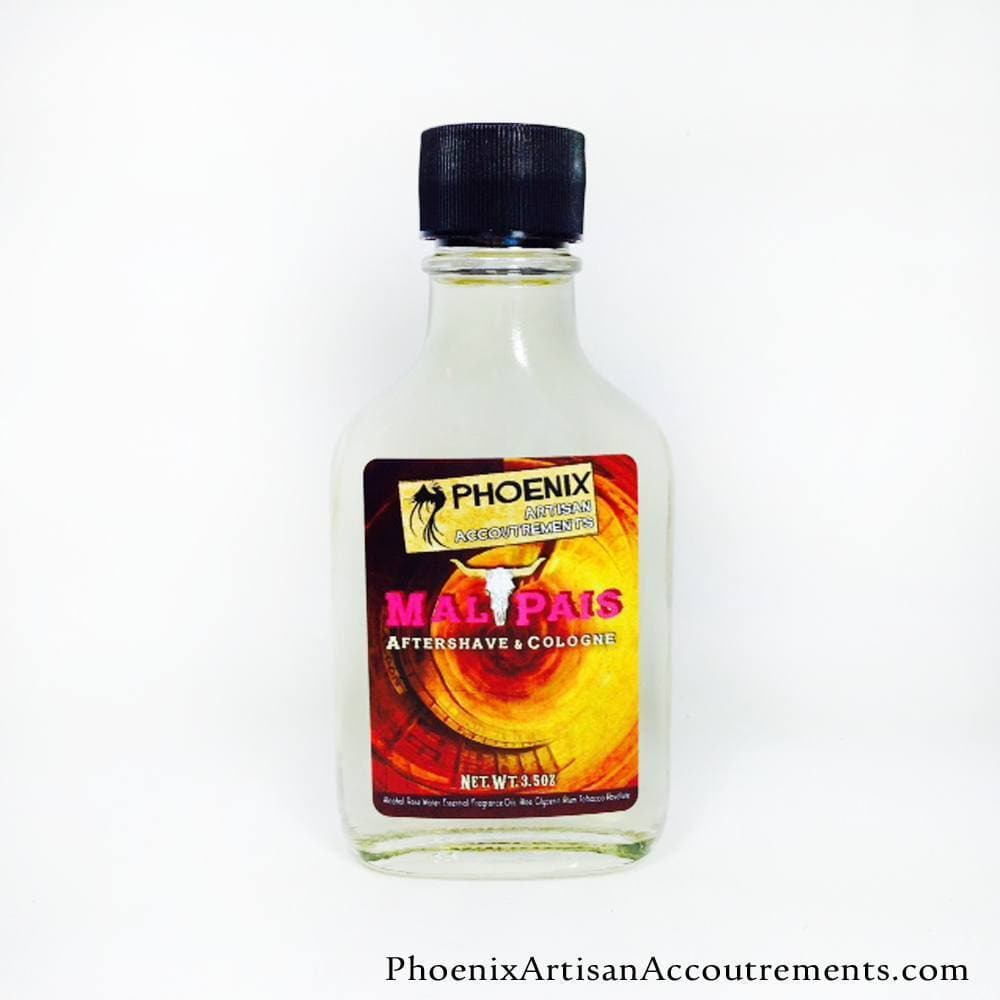 Mal Pais Aftershave/Cologne - Mesquite, Leather, Black Pepper & More - Phoenix Artisan Accoutrements