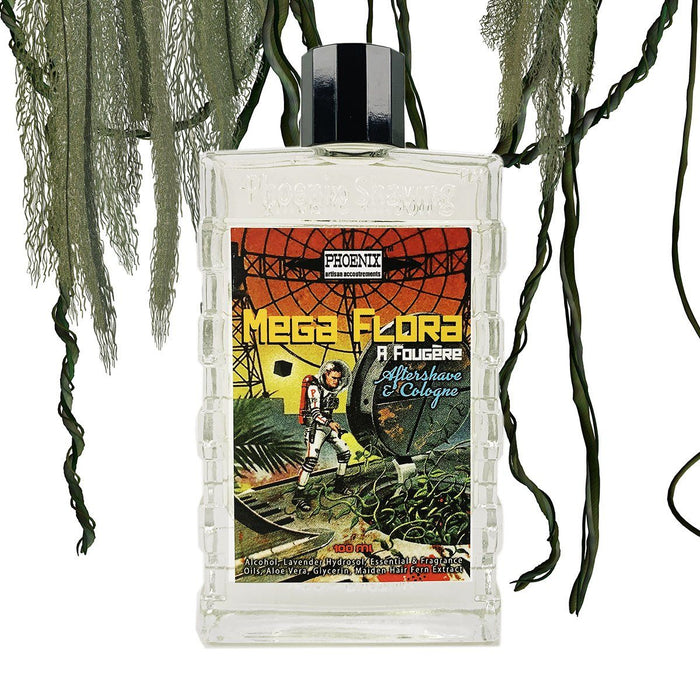 Mega Flora Aftershave/Cologne | An Epic Green, Serene, Smoother Take On Fougère - Phoenix Artisan Accoutrements
