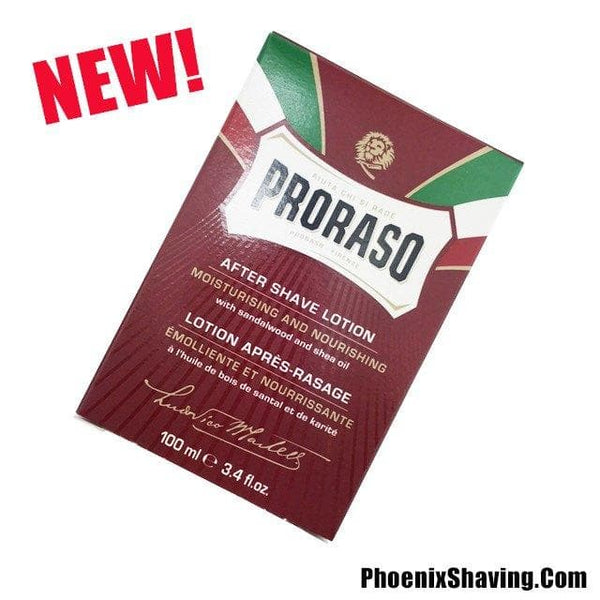 NEW Proraso Sandalwood Aftershave Lotion - Hot Seller! - Phoenix Artisan Accoutrements