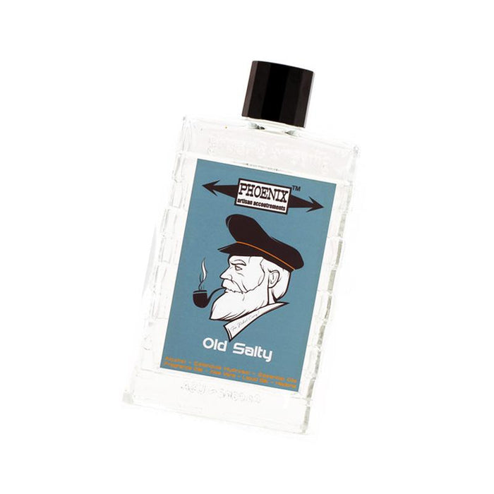 Old Salty Artisan Aftershave & Cologne | A Phoenix Shaving Classic | 100 Ml - Phoenix Artisan Accoutrements