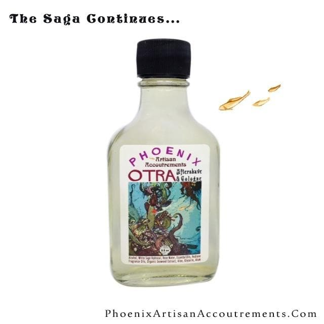 Otra Esoteric Aftershave & Cologne : Sister Scent to Al Fin (Alum, Aloe, Seaweed Extract) - Phoenix Artisan Accoutrements - 1