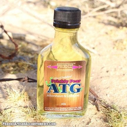 Prickly Pear ATG Aftershave/Cologne (Mentholated, Western Barber Scent) - Phoenix Artisan Accoutrements