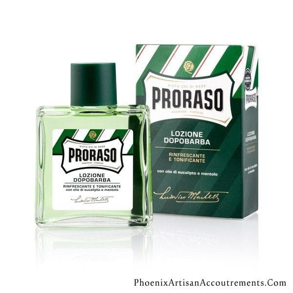 Proraso Aftershave With Eucalyptus Oil And Menthol - New Formula - Phoenix Artisan Accoutrements