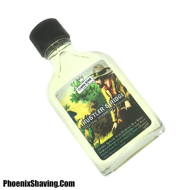 Aftershave Cologne - Rustler's Ridge Aftershave/Cologne - With Prickly Pear, Calendula, Aloe, Alum