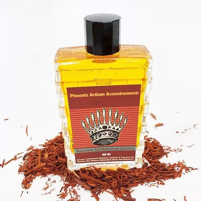 Supreme Sandalwood Science Aftershave/Cologne - Alchemystical! - Phoenix Artisan Accoutrements