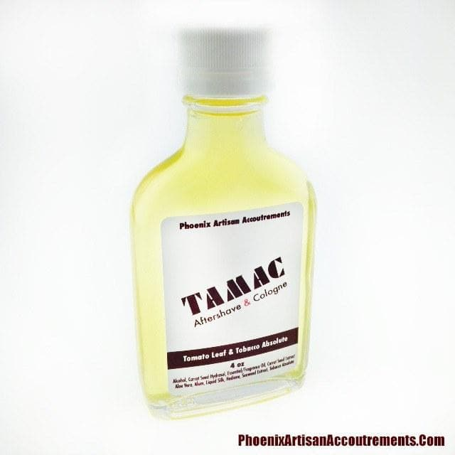 TAMAC Limited Edition Aftershave/Cologne - Tomato Leaf & Tobacco Absolute w/ Hedione - Phoenix Artisan Accoutrements