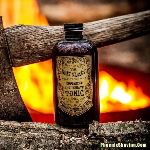 The Holy Black Aftershave Tonic - Contains Alcohol - Phoenix Artisan Accoutrements