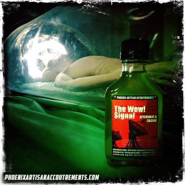 The WOW! Signal Aftershave/Cologne - w/ Alum, Aloe, Liquid Silk & More! - 3.5 Oz - Phoenix Artisan Accoutrements - 1