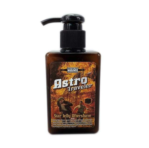 Astro Traveler Star Jelly Aftershave ~ A Whole New Species of Aftershave - Lightly Mentholated | 150 Ml - Phoenix Artisan Accoutrements